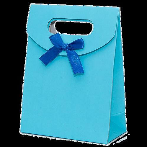 Premium Gift Bag, Blue (small)