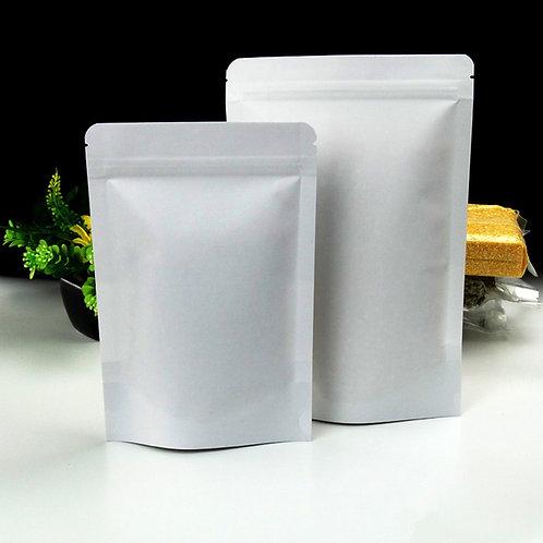 Ziplock White Kraft (StandUp)