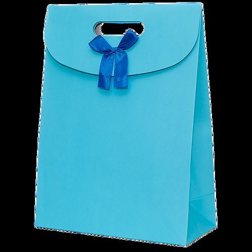 Premium Gift Bag, Blue (Big)