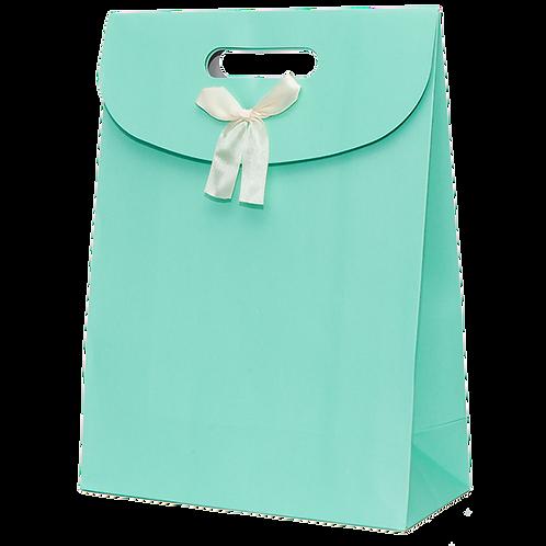 Premium Gift Bag, Turquoise (Big)