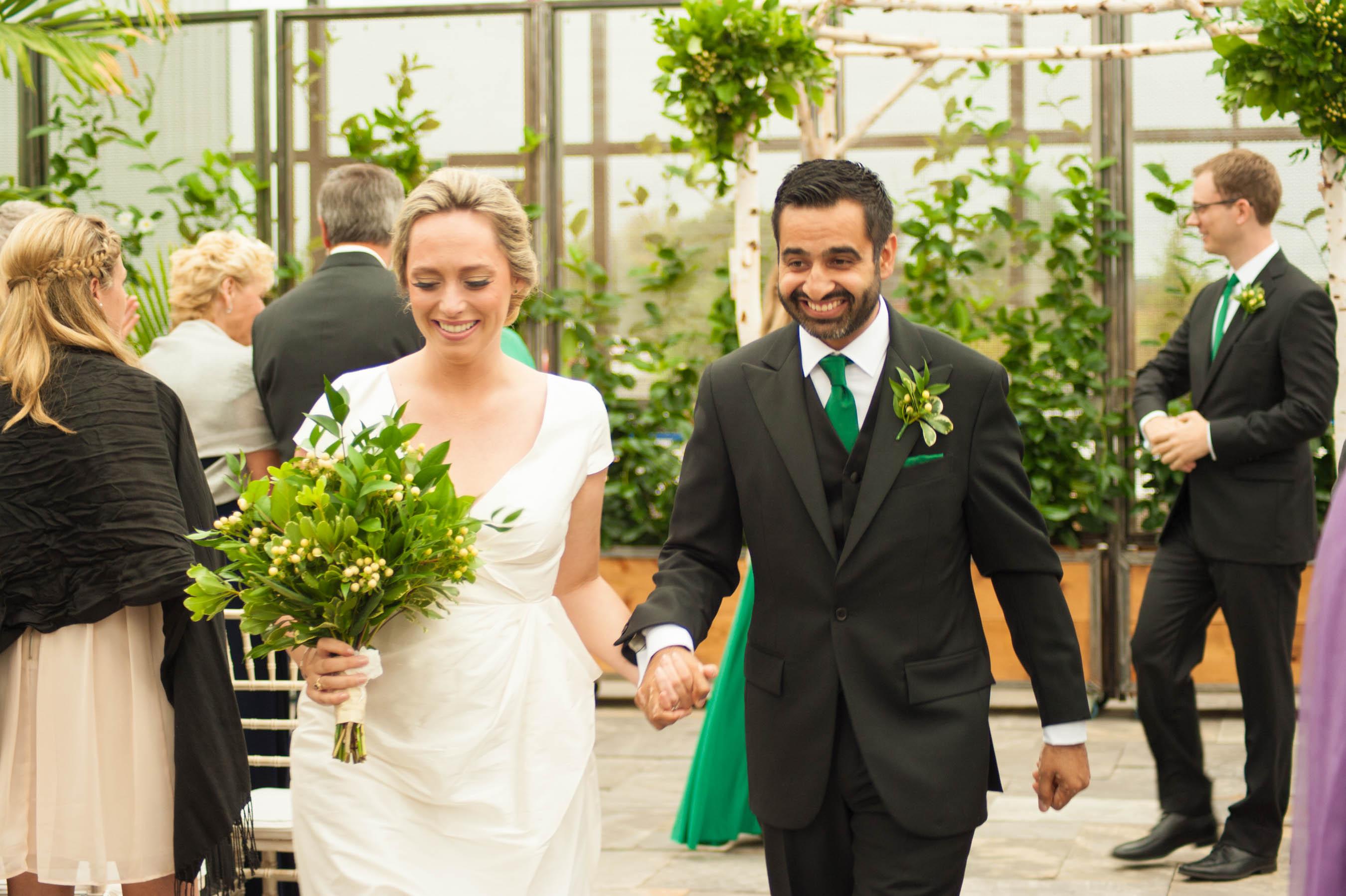 Aquatopia tropical wedding ceremony