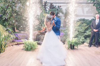 Zen Wedding Bride and Groom