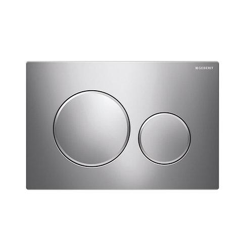 GEBERIT Sigma 20 Chrome, Round Button Flush Plate