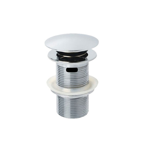 Metal Cap Pop-Up Waste, 32mm with Overflow, Chrome