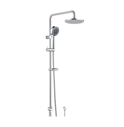 MICHELLE Multifunction Twin Rail Shower with Soap Basket