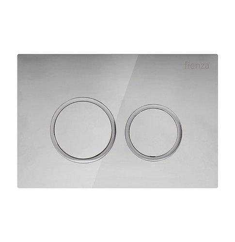 R&T Chrome, Round Button Flush Plate
