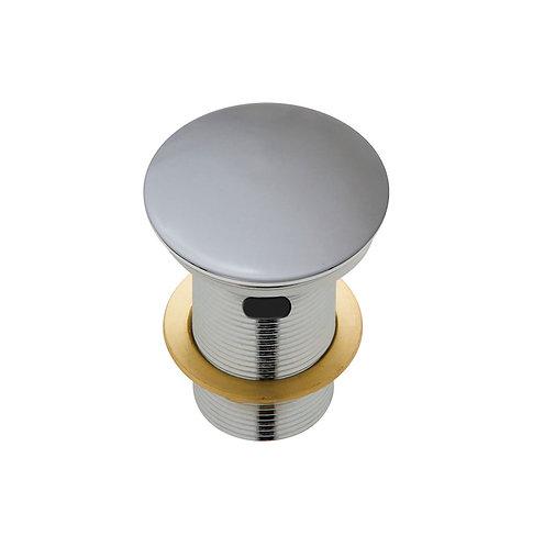 Ceramic Cap Pop-Up Waste, 32mm with Overflow, Matte Light Grey