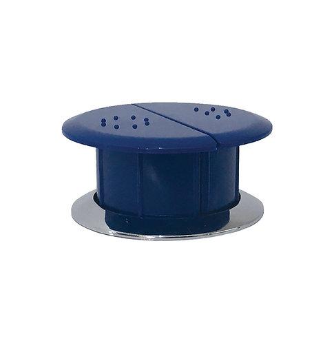 Raised Care Flush Buttons, Blue
