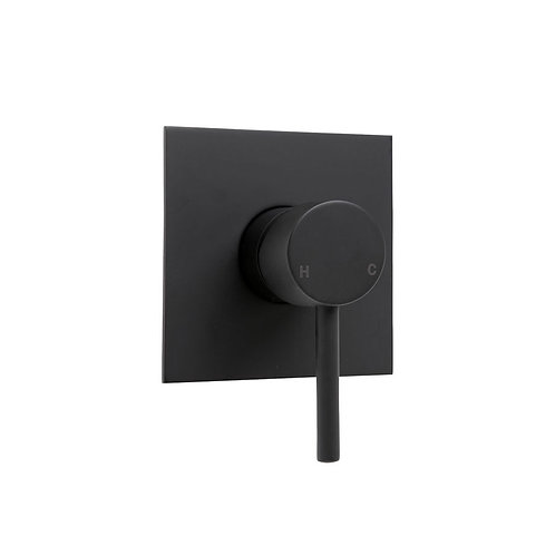 HUSTLE Wall Mixer, Square Plate