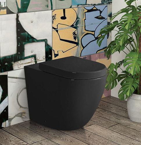 KOKO Rimless Black Wall-Faced Suite