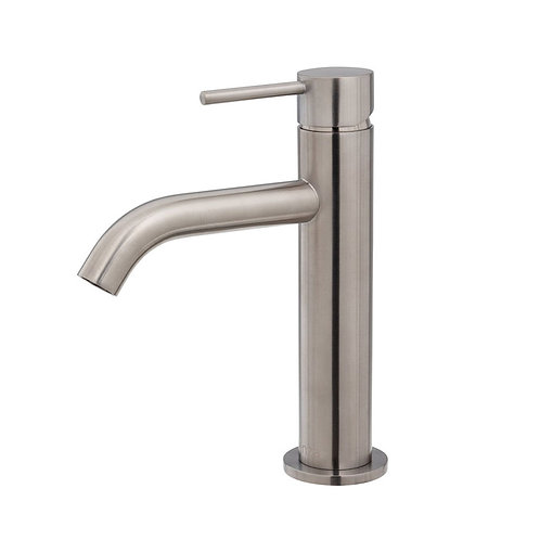 KAYA Basin Mixer, Brushed Nickel