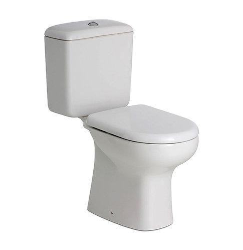 RAK LIWA White Close-Coupled Suite, S-Trap 240