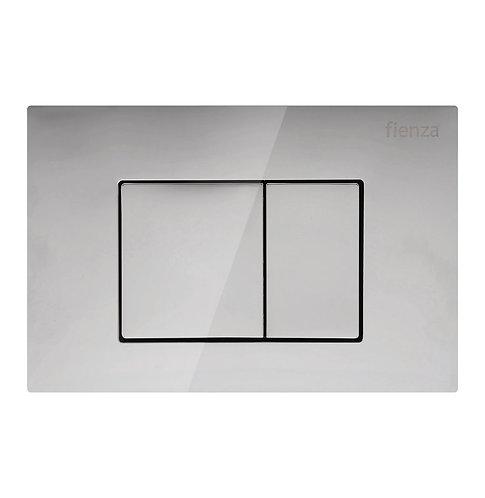 R&T Chrome, Square Button Flush Plate