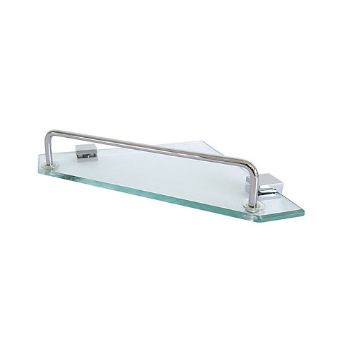 MODENA Glass Corner Shelf, Single 190