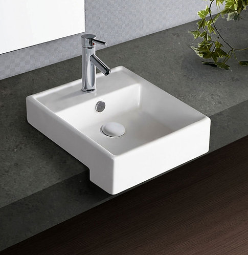 HELEN JUNIOR Semi-Recessed Basin