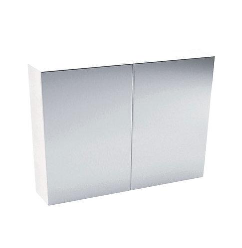 900 Mirror Cabinet, Pencil Edge
