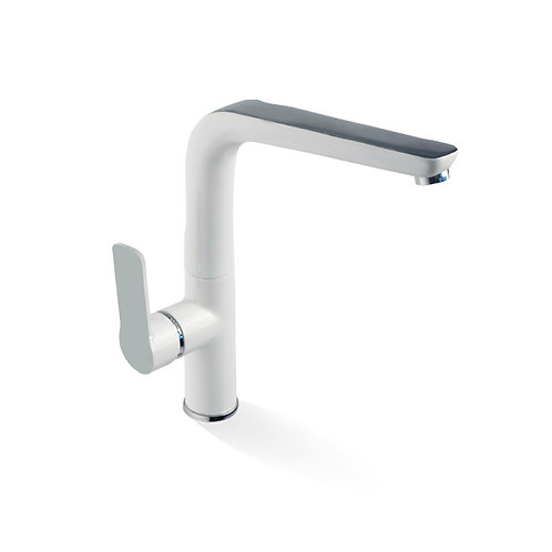Sink Mixer - Chrome And White