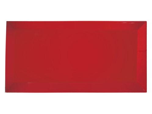 Red Gloss Bevel