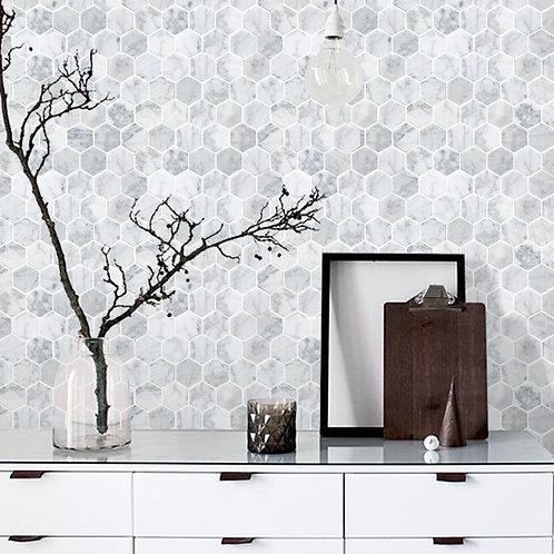 Carrara White Leaf