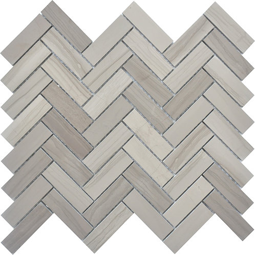 Athens Grey Herringbone