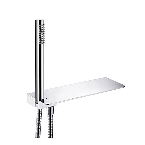 EMPIRE Handheld Shower with Integrated Shelf