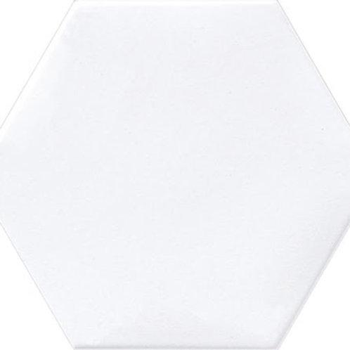 White Hex Matte