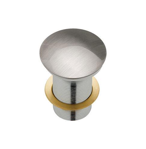 Metal Cap Pop-Up Waste, 32mm, Brushed Nickel