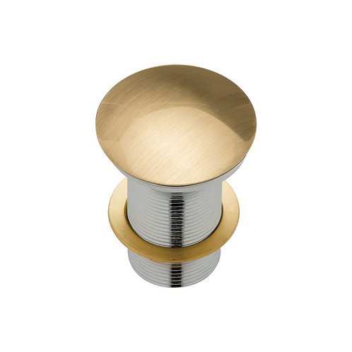 Metal Cap Pop-Up Waste, 32mm, Urban Brass
