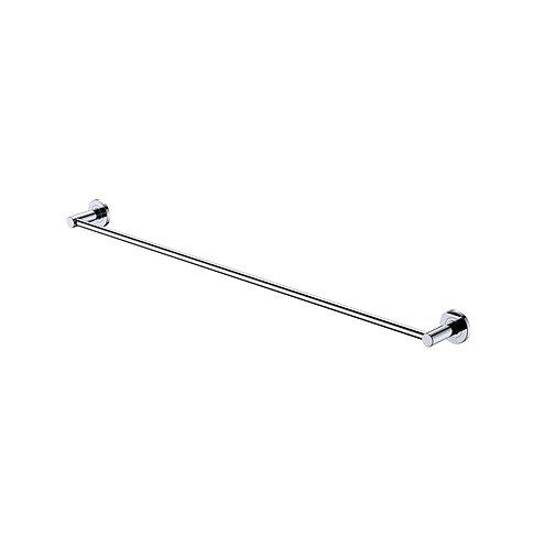 KAYA 900mm Single Towel Rail, Chrome