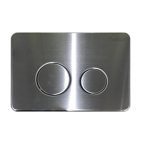 R&T Stainless Steel, Round Button Flush Plate