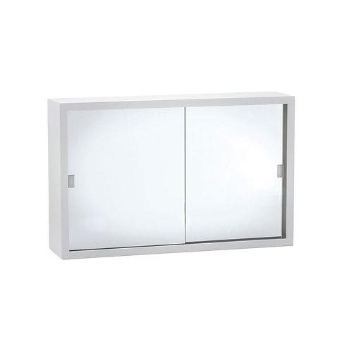 760 Acrylic Mirror Door Metal Cabinet