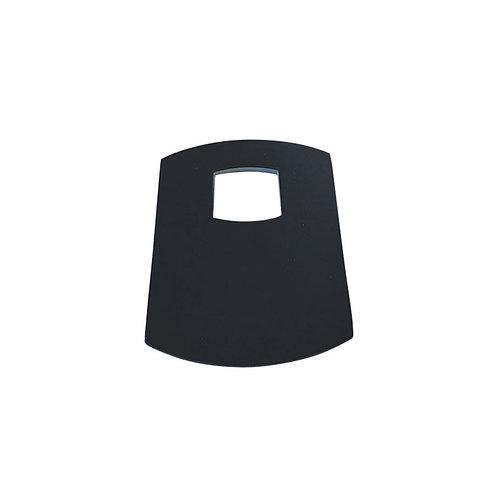 KOKO Matte Black Wall Plate