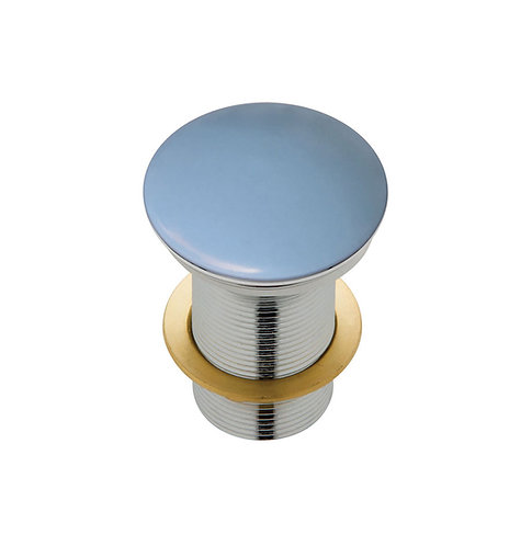 Ceramic Cap Pop-Up Waste, 32mm, Matte Blue