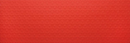 Embossed Feature Walls Spirit Flower Red