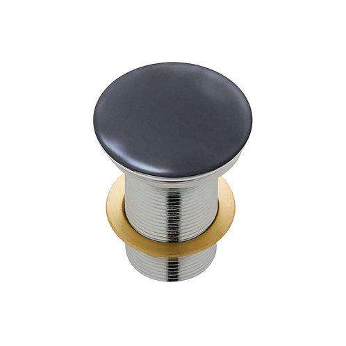 Ceramic Cap Pop-Up Waste, 32mm, Matte Dark Grey