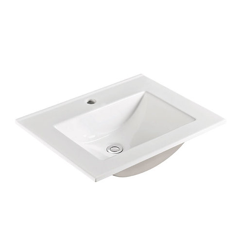 VANESSA 600 Poly-Marble Basin-Top