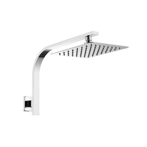 Gooseneck Shower - Chrome
