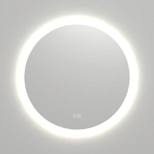 Kaya Round LED Mirror