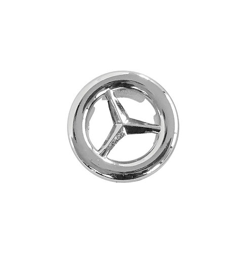 Overflow Plastic Ring, Mercedes Style, Chrome