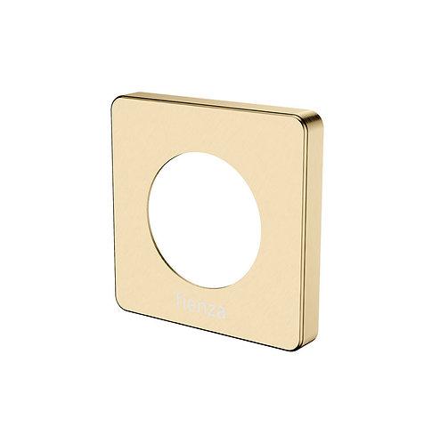 SANSA Soft Square Cover Plate, Urban Brass