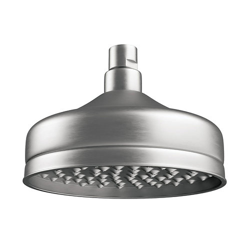 LILLIAN Shower Head, Brushed Nickel