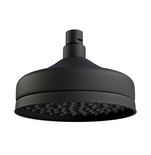 LILLIAN Shower Head, Matte Black