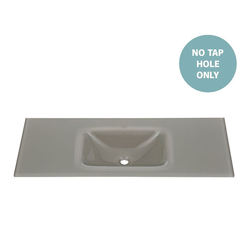 MAMBO Slate 1200 Tempered Glass Basin-Top (No Tap Hole)
