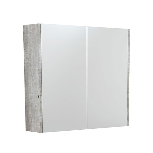 750 Mirror Cabinet with Industrial Side Panels