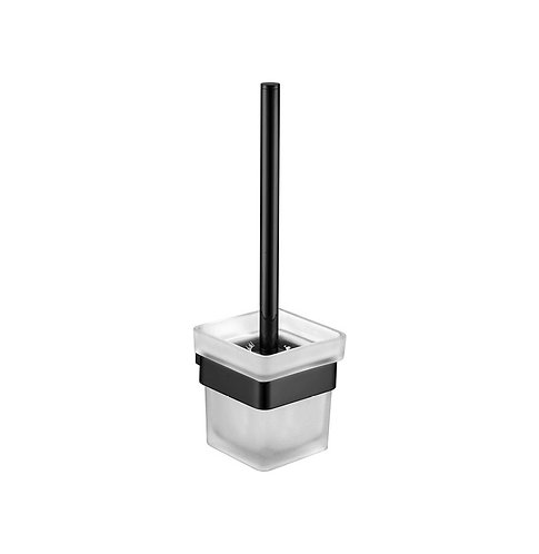 KOKO Matte Black Toilet Brush & Holder