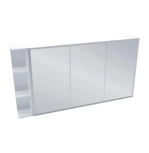 1200 Mirror Cabinet, Bevel Edge + 1 Side Shelves