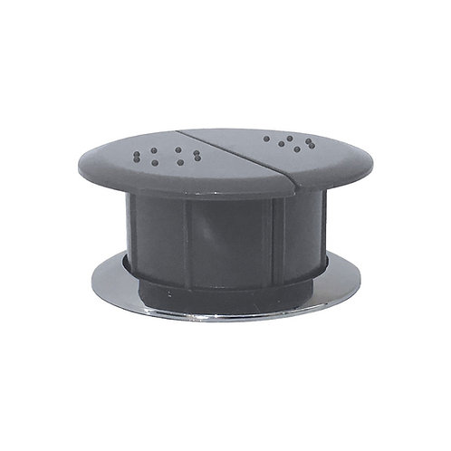 Raised Care Flush Buttons, Grey