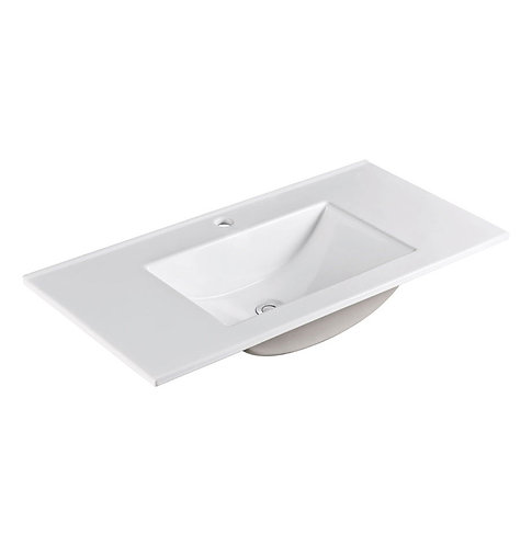 VANESSA 900 Poly-Marble Basin-Top