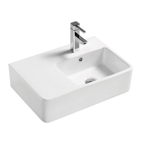 DELTA CARE Right-Hand Wall-Hung Basin