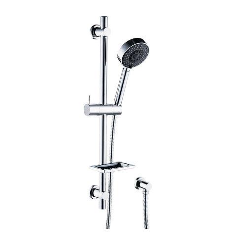 STELLA Rail Shower with Soap Dish